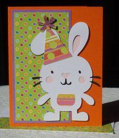 birthday bunny card