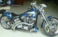 1999-Harley-Davidson-Springer-Motorcycle....You're beautiful, you're beautiful, you're beautiful it's true.  WOW.