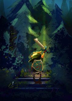 The Legend of Zelda by Lais Del Rei - Retro Gamer Blog