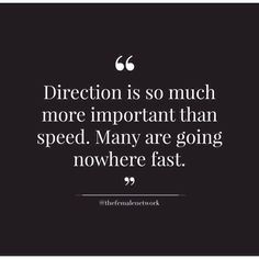 Whats your direction?