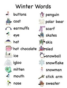 Winter words -         Repinned by Chesapeake College Adult Ed. We offer free classes on the Eastern Shore of MD to help you earn your GED - H.S. Diploma or Learn English (ESL) .   For GED classes contact Danielle Thomas 410-829-6043 dthomas@chesapeke.edu  For ESL classes contact Karen Luceti - 410-443-1163  Kluceti@chesapeake.edu .  www.chesapeake.edu