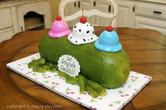 Pickles and Ice cream HAM this is gonna be your Bday Cake!! Luv U !