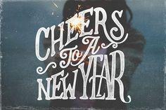 New Year's Photo Overlays 2016