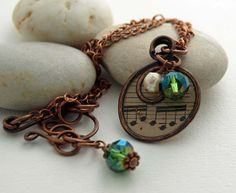 Swirl copper wire frame resin clear with by DragonflyDreamers,