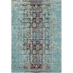 An over-dyed motif gives this Artemis Blue Area Rug a look that adds a boho touch to any space. Use it to level out a neutral living room arrangement or to define space in the den. Teal Rug, Aqua Area Rug, Home Living, Living Rooms, Accent Rugs, Joss And Main, My New Room, Throw Rugs, Textiles