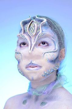 SFX Makeup by Adafih Padmore by Adafih Padmore, via Behance