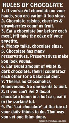 Oh Chocolate