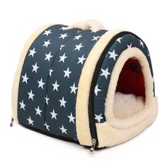 ENKOUS Luxury Cozy 2-in-1 Pet House and Sofa, Indoor Portable Foldable Dog Room / Cat Bed. Prepare a Warm House for Your Pet. (S-14'x12'x11') -- Want to know more, click on the image. (This is an affiliate link and I receive a commission for the sales)