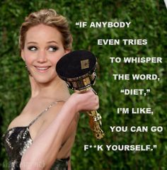 And this is why I love her. #JLaw