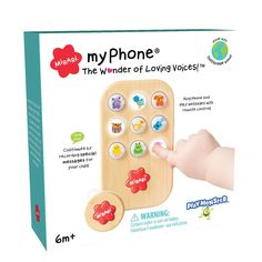 PlayMonster Mirari Myphone -- The Wonder of Loving Voices! *** Click on the image for additional details. (This is an affiliate link) Learning Toys, Light Colors, Light Up, The Voice, First Love, Messages, Phone, Fun, Grandparents