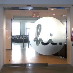 glass storefront frameless glass decal - Google Search
