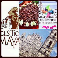 Hoy ultimo de la feria regional gastronomica de Tepotzotlan ven y disfruta de este hermoso pueblo magico y su fabulosa gastronomia el SiTiO MaYa inivita