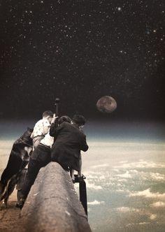 Kids, space, galaxy, cosmos...