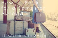 How To Pack for a Semester Abroad