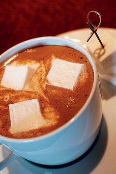 Homemade toasted marshmallows are a seasonal exclusive in the Club Lounge of The Ritz-Carlton, Boston Common—add them to our indulgent cocoa for a special treat!