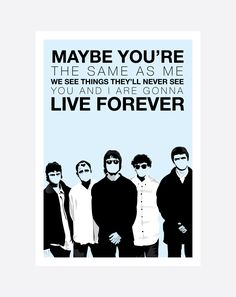 Oasis, Liam and Noel Gallagher. and poster sizes available. Illustration By Mike Moran Oasis Live Forever, Liam And Noel, Oasis Band, Forever Tattoo, Liam Gallagher, Britpop, Rock And Roll, Hand Drawn, Musicians