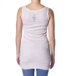 Odd Molly grampa slip tank Art.-Nr. M614-738 light grey melange