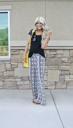 CARA LOREN...love this outfit! Found me some of these pants today!