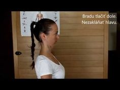 Cviky na uvoľnenie krčnej chrbtice. - YouTube