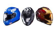 São três modelos de capacetes do Homem de Ferro Capitão América e Justiceiro  continue lendo em Marvel lança linha especial de capacetes para motos
