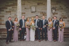 Loving this lavender, navy, and gray wedding color palette | Image by Ten21 Photography