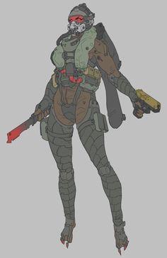 Sci-Fi Armor Design by Lee Yeong gyun Robot Concept Art, Armor Concept, Character Concept, Character Art, Arte Ninja, Futuristic Armour, Sci Fi Armor, Science Fiction, Cyberpunk Art