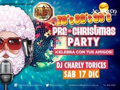 #eventosacapulco Comienza a celebrar la Navidad en Palladium de Acapulco. EVENTOS ACAPULCO. La Navidad cada vez está más cerca y puedes comenzar a festejar desde antes en Palladium de Acapulco, ya que el próximo sábado 17 de diciembre, se llevará a cabo en sus instalaciones una Pre Christmas Party con la música de los años 70, 80 y 90 por el dj Charly Torices. Te invitamos a visitar la página oficial de Fidetur Acapulco, para obtener más información.