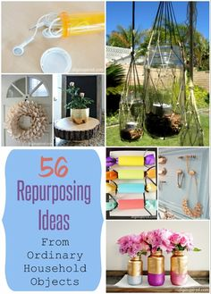 Repurposing Ideas for Ordinary Household Objects