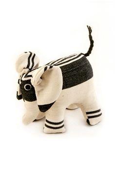 | Stuffed African Elephant |