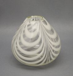 Art glass, vase, Maija Carlson