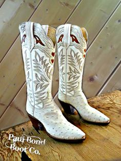 Paul Bond Custom Handmade Cowboy Boots Nogales, Arizona.