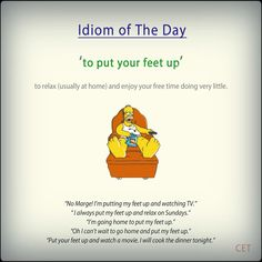 #idioms #ELT #voc -         Repinned by Chesapeake College Adult Ed. We offer free classes on the Eastern Shore of MD to help you earn your GED - H.S. Diploma or Learn English (ESL) .   For GED classes contact Danielle Thomas 410-829-6043 dthomas@chesapeake.edu  For ESL classes contact Karen Luceti - 410-443-1163  Kluceti@chesapeake.edu .  www.chesapeake.edu