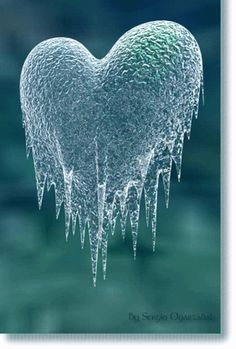 ~ Forbidding the heart to be free ~ to beat as it needs ~ to love what it needs ~ The quiet ~ of a still heart that yields for many but is incomplete ~ it is held in suspension ~ waiting for warmth ~
