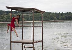 https://flic.kr/p/xBy6nd | Wild rose - by KLAUS Photography by Olivera Radosavljevic | Female dancer on the beach,