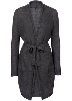 Pletený sveter s opaskom na previazanie • 19.99 € • bonprix