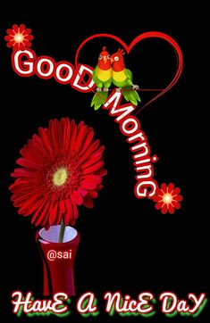 Good Morning Love Messages, Good Day, Beautiful Flowers, Greetings Posters, Neon Signs, Night, Dil Se, Cards, Inspiration