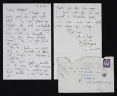 Brian Jones fan letter to Margaret - 1964