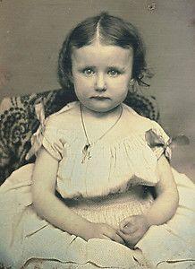 1 9 Daguerreotype Photo Portrait of Charming Girl | eBay