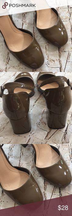 "💙 Zara Patten Leather Heel Great condition  Size 36 Us 6 Strap around ankle  2 1/2"" heel  Slight wear on bottom of heel  Super cute Zara Shoes Heels"