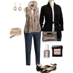 """Plus Size - Blush, Black, and Gold Sequins"" by alexawebb on Polyvore"