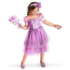 Floral Rapunzel Costume Collection