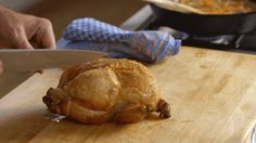 A recipe video for classic roast chicken, juicy and crisp-skinned, by Michael Ruhlman; includes a simple pan sauce that's rich, velvety, and flavorful. Pan Sauce For Chicken, Chicken Flavors, Roast Chicken, Seasonal Food, Fall Food, 5 Ingredient Recipes, Fall Recipes, Chefs, Food Videos