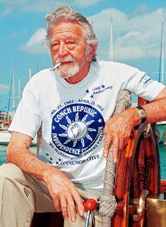 My friend the late Captain Tony Tarracino, former mayor of Key West and proprietor of Captain Tony's Saloon. Key West Florida, Florida Keys, Fl Keys, Florida Travel, Key West Bars, The Fl, Jimmy Buffett, Savannah Chat, Savannah Georgia