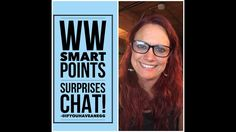 Weight Watchers Smart Points Surprises: Facebook Live Chat - YouTube