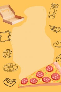 Fond Design, Menu Card Design, Pizza House, Pizza Art, Food Crafts, Menu Cards, Background Templates, Text Me, Food Menu