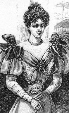 Tiaras are seen frequently, often with rhinestones and pearls in both gold and silver, short bead necklaces, often with multiple strands, bracelets, of pearls or gold are also quite fashionable. Earrings can be dangles, either long or short.