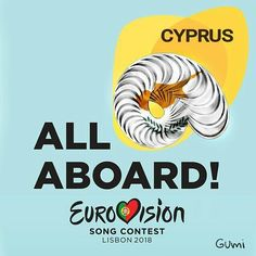 Eurovision 2018 Lisbon All Aboard Cyprus Cyprus, Lisbon, Songs, Song Books