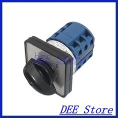 10.00$  Buy now - http://ali7ni.shopchina.info/go.php?t=2036045209 - AC 660V 20A 12 Terminals 2 Positions Rotary Selector Cam Changeover Switch  #aliexpress
