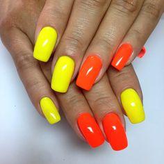 Яркие оттенки лета#nails#nailsfashion#маникюр#manicure#naildisingn
