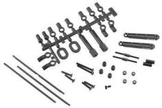CKRC Hobbies has AX30781 - Axial Front Sway Bar Set Wraith This is the Front Sway Bar Set for the Axial Wraith. FEATURES: Soft, medium, and firm steel sway bars